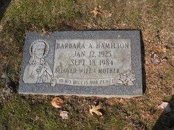 Barbara A. Hamilton