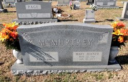 Mary <I>Hoover</I> McMurtrey
