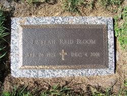 Twylah Reid <I>Shelby</I> Bloom