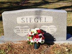 John Theodore Siegel