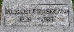 Margaret F Sutherland