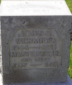 Mary E <I>Frizzel</I> Vermilya