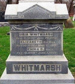 Elizabeth <I>Masters</I> Whitmarsh