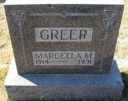 Marcella M Greer