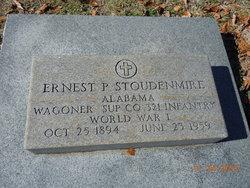 Ernest P Stoudenmire