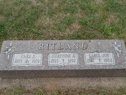 Josephine A. Ritland