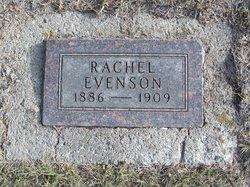 Rachel Josephine <I>Rasmussen</I> Evenson