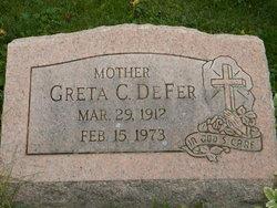 Greta C DeFer