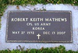 Robert Keith Mathews