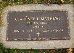"""Clarence """"Rusty"""" Mathews"""