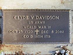 Clyde V Davidson