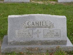 Julia M <I>Casper</I> Cahill