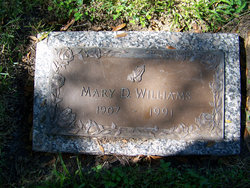 Mary D Williams