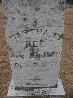 Martha E Kee