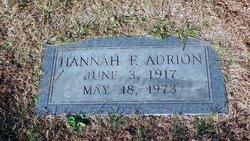 Hannah F Adrion