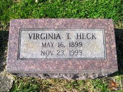 Virginia <I>Tevis</I> Heck