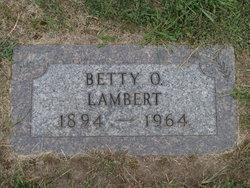 Betty O. Lambert