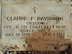 Claude P Davidson