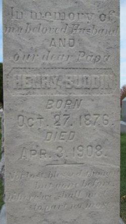 Henry Buddin