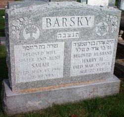 Sarah Barsky