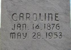 Caroline <I>Guckes</I> Buddin