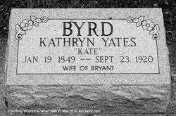 Kathryn <I>Yates</I> Byrd
