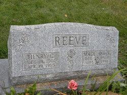 Madeline V Reeve
