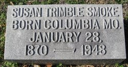 Susan <I>Trimble</I> Smoke