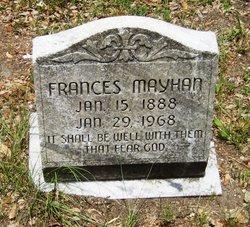 Frances Mayhan