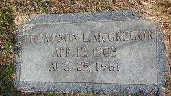 Thompson L McGregor
