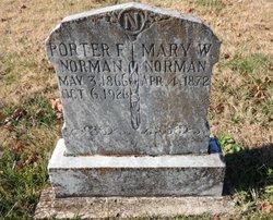 Porter Field Norman