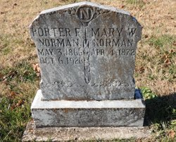 Mary Walker <I>Tudor</I> Norman