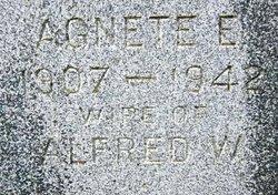 Agnete Elizabeth <I>Larsen</I> McMath