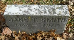 Jane <I>Taggart</I> Smith