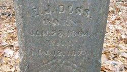 Elizabeth Jane <I>Miles</I> Doss