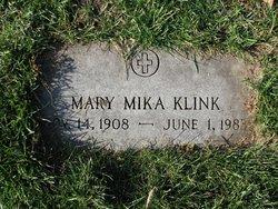 Mary <I>Mika</I> Klink