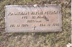 Jonathan Wayne Petroff