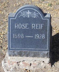 Rose <I>Jones</I> Reif