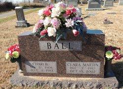 Clara <I>Martin</I> Ball