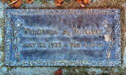Virginia A. <I>Daily</I> Rogers