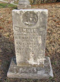 Minnie G Hendricks