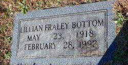 Lillian <I>Fraley</I> Bottom