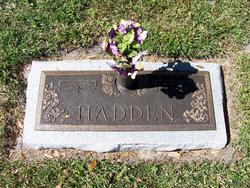 Mary M <I>Abrams</I> Hadden