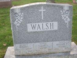 Sarah E <I>Holland</I> Walsh