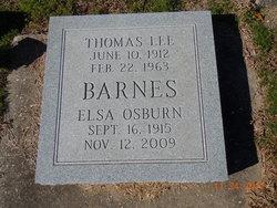Elsa Osburn Barnes