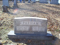 Eliza <I>Register</I> Parham