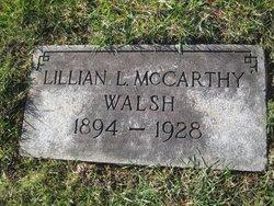 Lillian L <I>McCarthy</I> Walsh