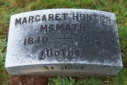 Margaret <I>Hunter</I> McMath