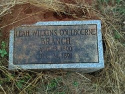Leah Wilkins <I>Coulburne</I> Branch