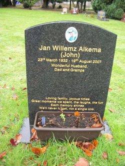 "Jan Willemz ""John"" Alkema"